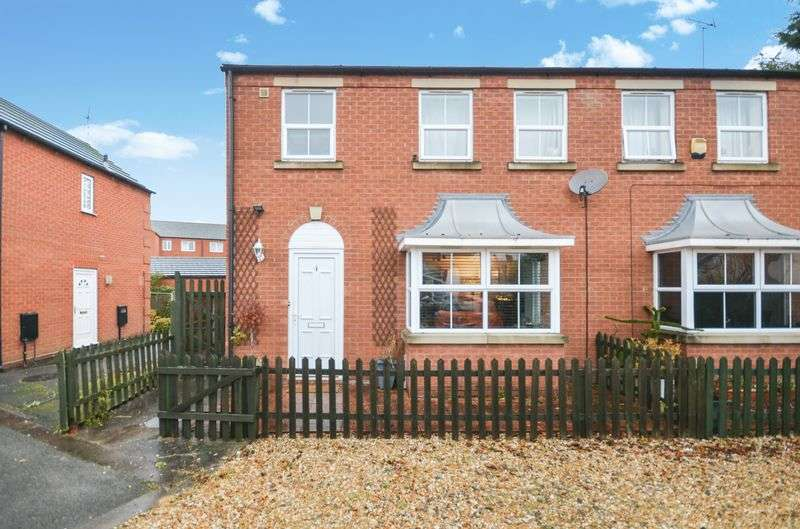 3 Bedrooms Semi Detached House for sale in 4 The Paddock, Off Peel Street,, Lincoln, LN5 8BX