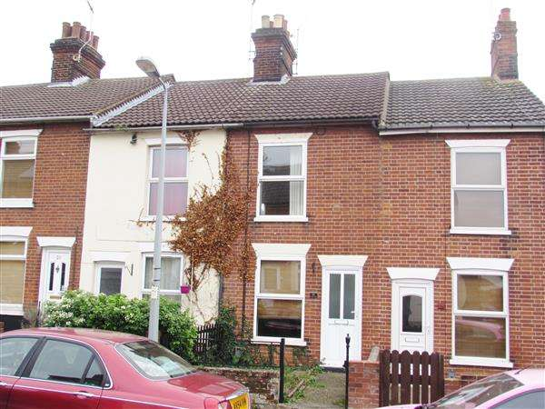 2 Bedrooms Terraced House for sale in Waveney Road, Ipswich