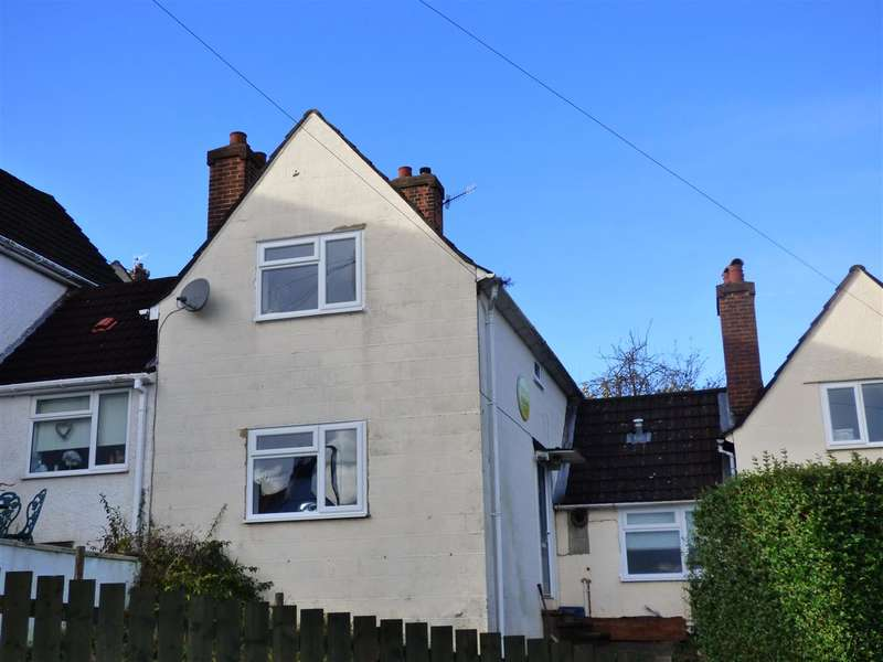 2 Bedrooms Terraced House for sale in Wye Crescent, Chepstow