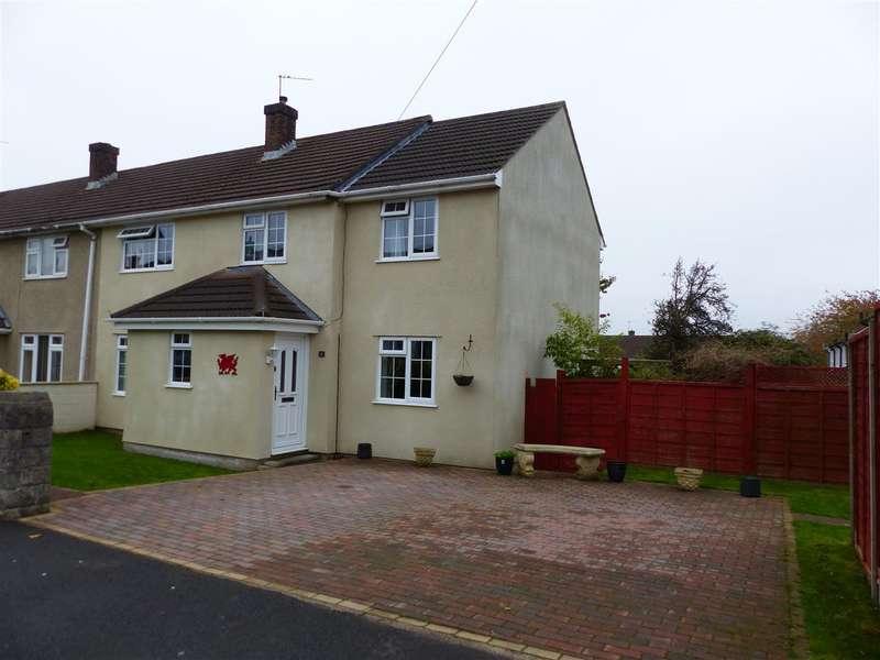 4 Bedrooms Semi Detached House for sale in Brunel Road, Bulwark, Chepstow