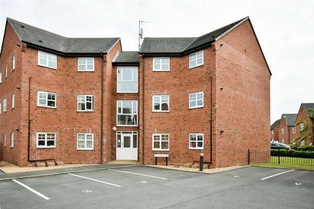 2 Bedrooms Flat for sale in Victory Close, Lichfield, Staffordshire