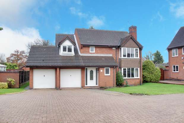 5 Bedrooms Detached House for sale in The Spinney,, Atherstone, Warwickshire, CV9 1RS