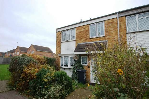 3 Bedrooms End Of Terrace House for sale in St Audreys Close, Hatfield, Hertfordshire