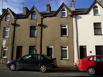 3 Bedrooms Terraced House for sale in Glanrafon Terrace, Pwllheli, Gwynedd, LL53