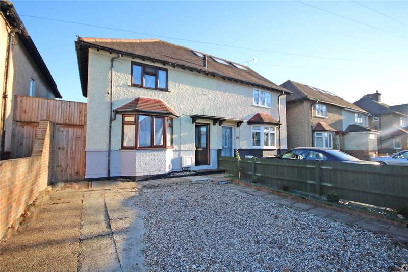 2 Bedrooms Semi Detached House for sale in Molesey Road, Hersham, Walton-on-Thames, Surrey, KT12