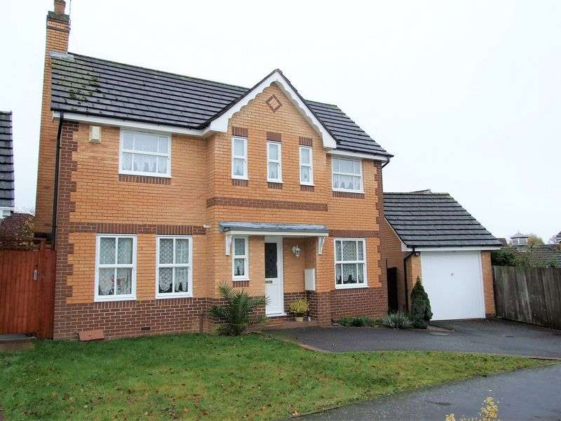 3 Bedrooms Detached House for sale in Bluebell Drive, Loughborough