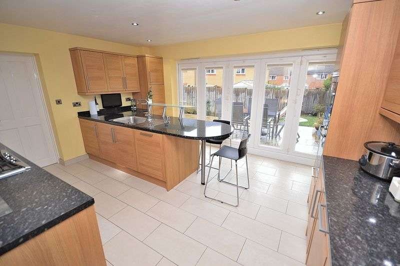 4 Bedrooms Detached House for sale in Liddell Way, Leighton Buzzard