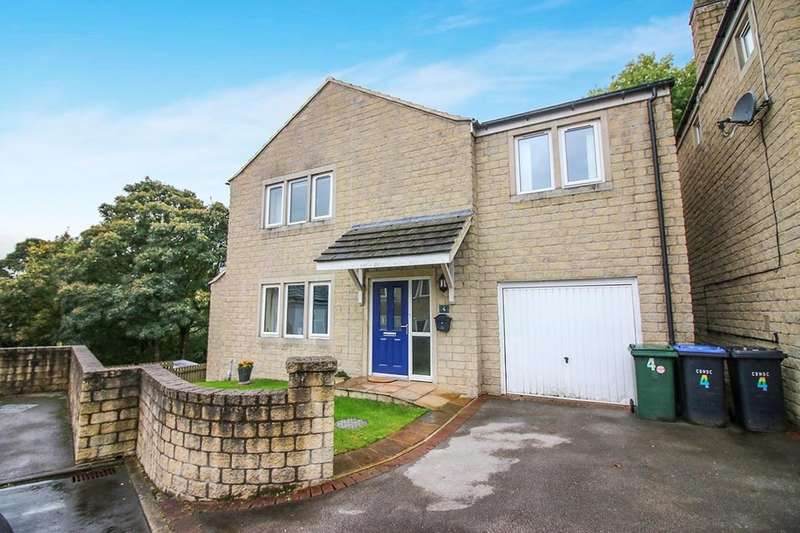 4 Bedrooms Detached House for sale in Woodlands View, Oakworth, Keighley, BD22