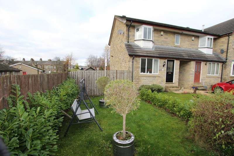 2 Bedrooms Town House for sale in Weavers Croft, Rawfolds