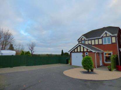 3 Bedrooms Detached House for sale in Shackland Drive, Measham, Swadlincote