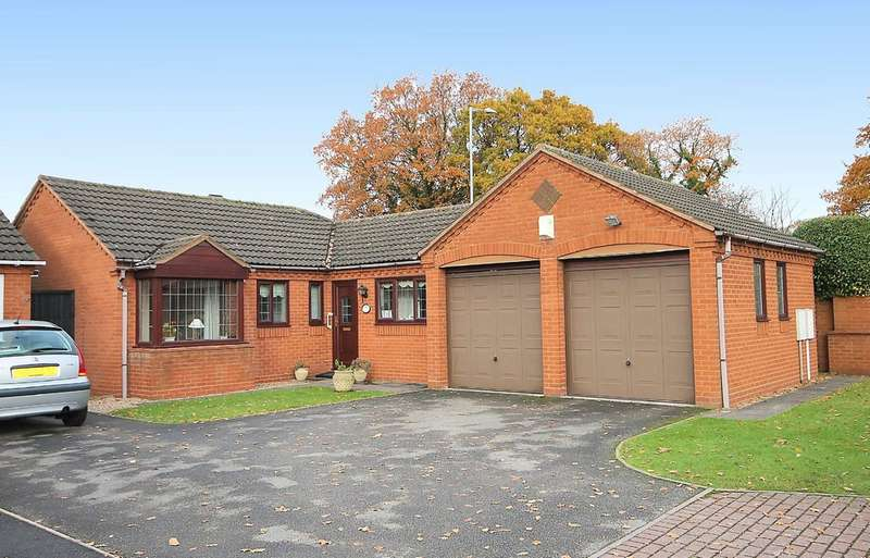 3 Bedrooms Detached Bungalow for sale in Brewster Close, Fazeley, B78 3QT