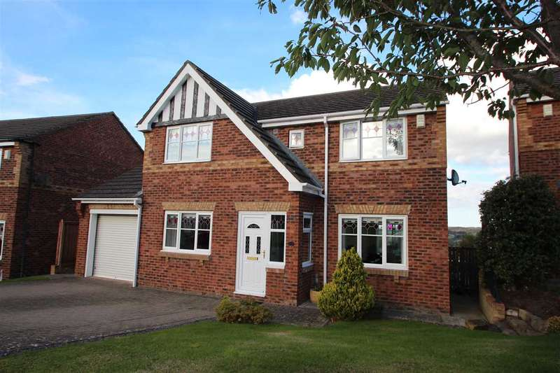 4 Bedrooms Detached House for sale in Castlehills, Castleside, Consett