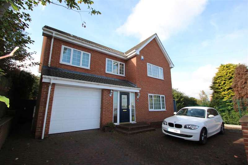 5 Bedrooms Detached House for sale in Highfield, Sacriston, Durham