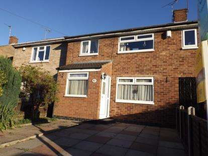 3 Bedrooms Terraced House for sale in Scotswood Crescent, Eyres Monsell, Leicester, Leicestershire