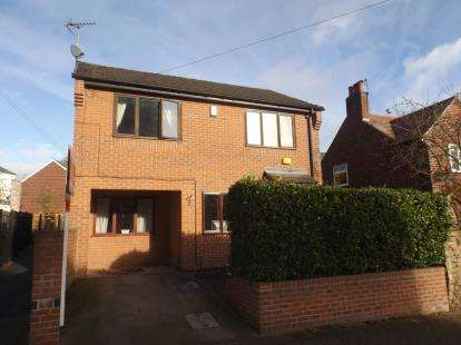 3 Bedrooms Detached House for sale in Ogle Street, Hucknall, Nottingham, Nottinghamshire