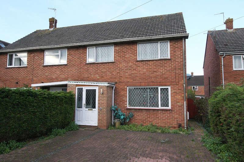 3 Bedrooms Semi Detached House for sale in Dorset Crescent, Melksham