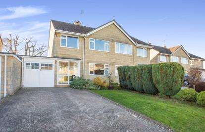 3 Bedrooms Semi Detached House for sale in Courtfield, Tetbury, Gloucestershire