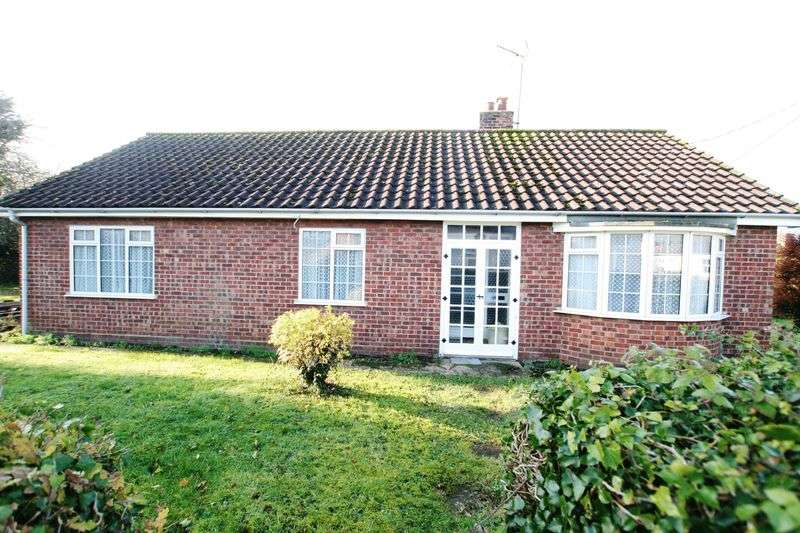 3 Bedrooms Detached Bungalow for sale in Raynham Road, Helhoughton, Fakenham, NR21 7BG