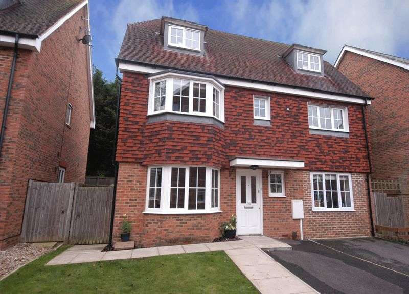 4 Bedrooms Detached House for sale in Edelin Road, Bearsted, Maidstone