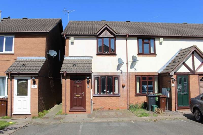 2 Bedrooms Semi Detached House for sale in Cavalier Circus, Moseley Meadows, Wolverhampton