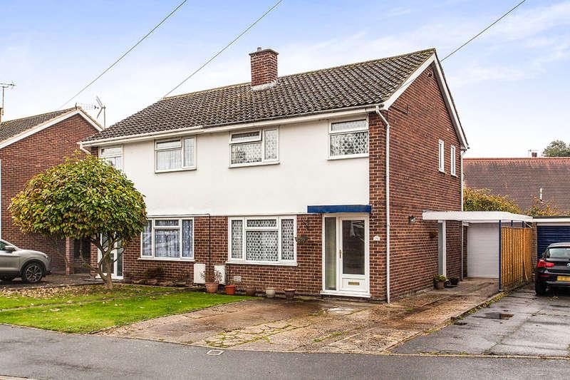 3 Bedrooms Semi Detached House for sale in Nortons Way, Five Oak Green, Tonbridge, TN12