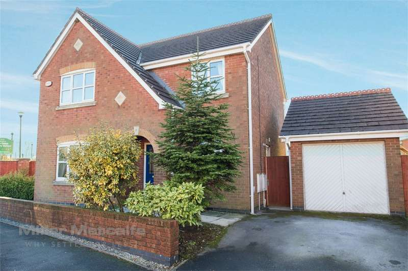 4 Bedrooms Detached House for sale in Bristle Hall Way, Westhoughton, Bolton, Lancashire