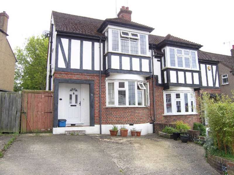 3 Bedrooms Semi Detached House for sale in Somers Way, Bushey