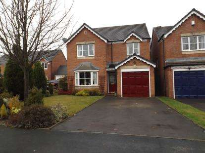 4 Bedrooms Detached House for sale in Long Mynd Close, Willenhall, West Midlands, Willenhall
