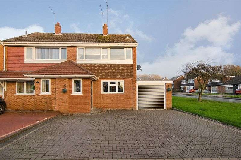 3 Bedrooms Semi Detached House for sale in Alpine Drive, Hednesford, Cannock