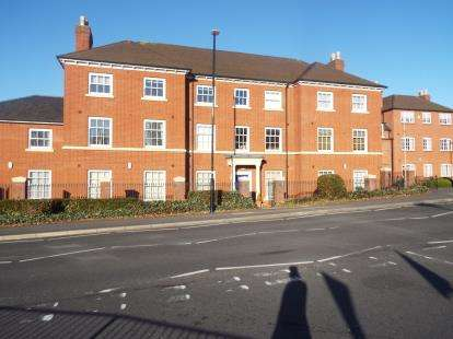 2 Bedrooms Flat for sale in Park Court, Birmingham Road, Coleshill, Birmingham