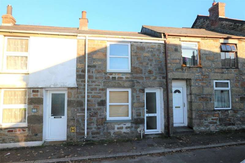2 Bedrooms Terraced House for sale in Parc Bracket Street, Camborne, Cornwall