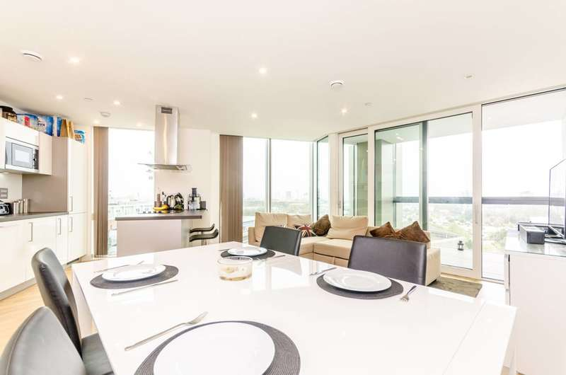 2 Bedrooms Flat for sale in Ontario point, Surrey Quays Road, Canada Water, SE16