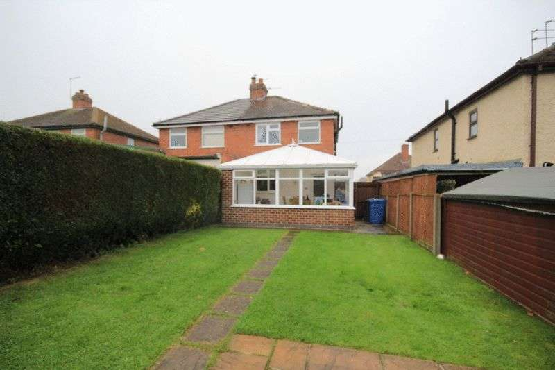 2 Bedrooms Semi Detached House for sale in REGINALD ROAD SOUTH, CHADDESDEN