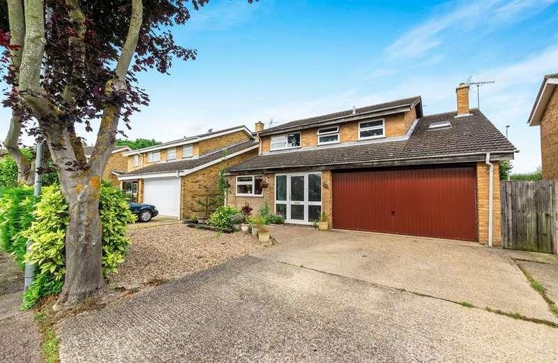 5 Bedrooms Detached House for sale in Arkwright Road, Milton Ernest, Bedford, MK44