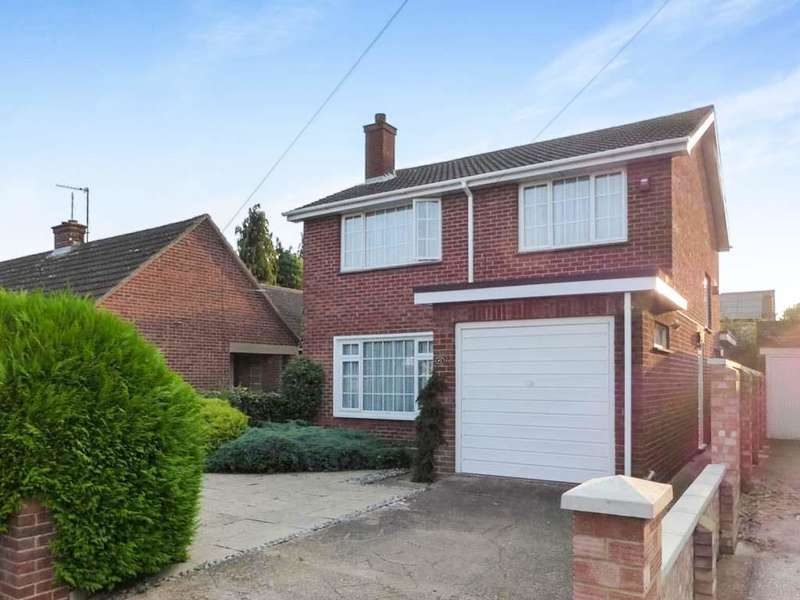 3 Bedrooms Detached House for sale in Greenshields Road, Bedford, MK40