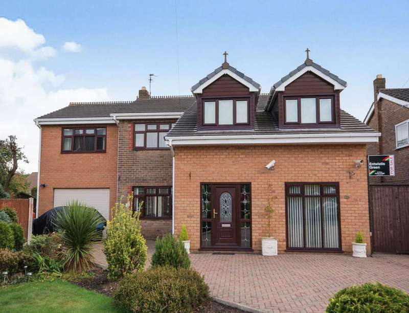 4 Bedrooms Detached House for sale in Guild Hey, Knowsley, Prescot, L34