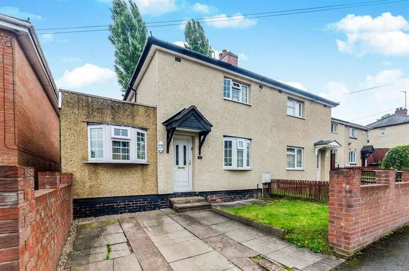 3 Bedrooms Semi Detached House for sale in Field Road, Dudley, DY2