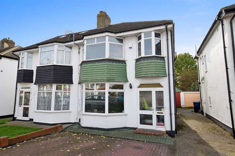 3 Bedrooms Semi Detached House for sale in Eskdale Avenue, NORTHOLT, UB5