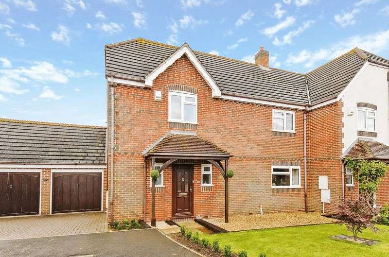 4 Bedrooms Semi Detached House for sale in Turners Close, Radley, Abingdon