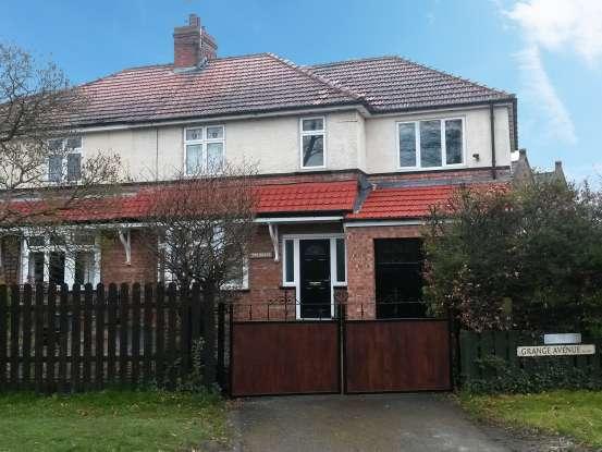 4 Bedrooms Semi Detached House for sale in Grange Avenue, Darlington, Durham, DL2 2HE