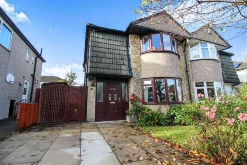 3 Bedrooms Semi Detached House for sale in Woodside Crescent, Bingley, BD16