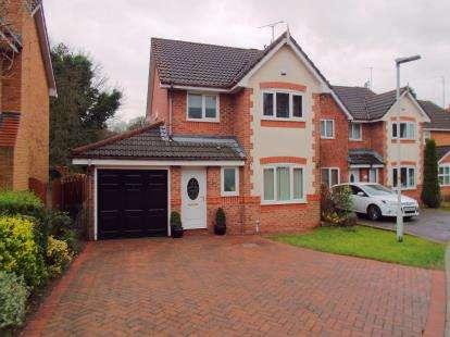 3 Bedrooms Detached House for sale in Tintagel Close, Feniscowles, Blackburn, Lancashire, BB2