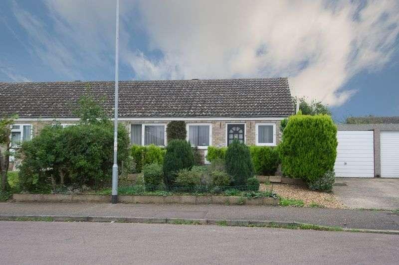 2 Bedrooms Semi Detached Bungalow for sale in Brampton, Huntingdon