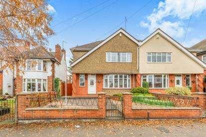 4 Bedrooms Semi Detached House for sale in Park Avenue North, Abington, Northampton, Northamptonshire