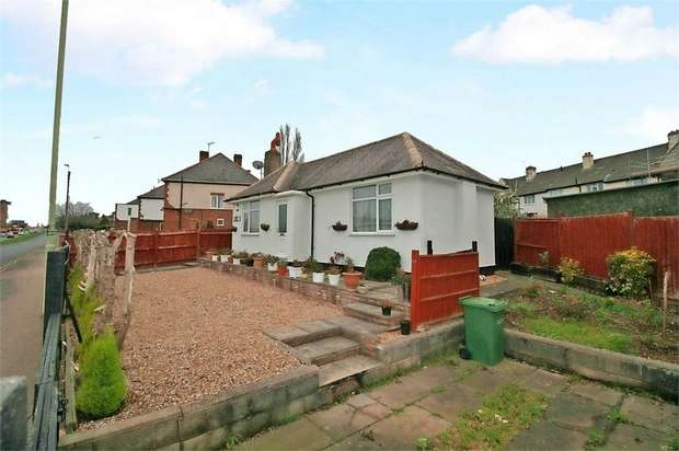 2 Bedrooms Detached Bungalow for sale in Harborough Road, Oadby, Leicester