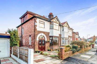 4 Bedrooms Semi Detached House for sale in Windsor Avenue, Gatley, Cheadle, Greater Manchester