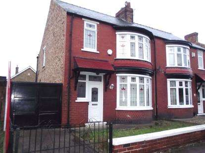 3 Bedrooms Semi Detached House for sale in Devonshire Road, Middlesbrough