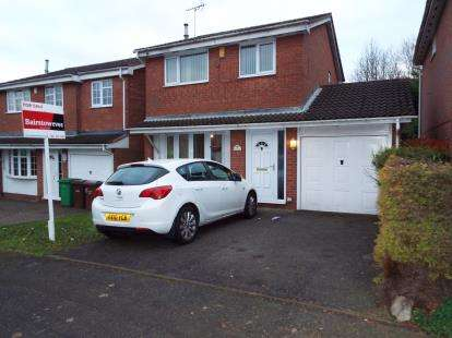 3 Bedrooms Detached House for sale in Lancaster Way, Strelley, Nottingham, Nottinghamshire