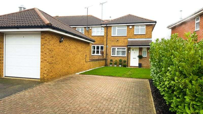 3 Bedrooms House for sale in Whitwell Close, Luton
