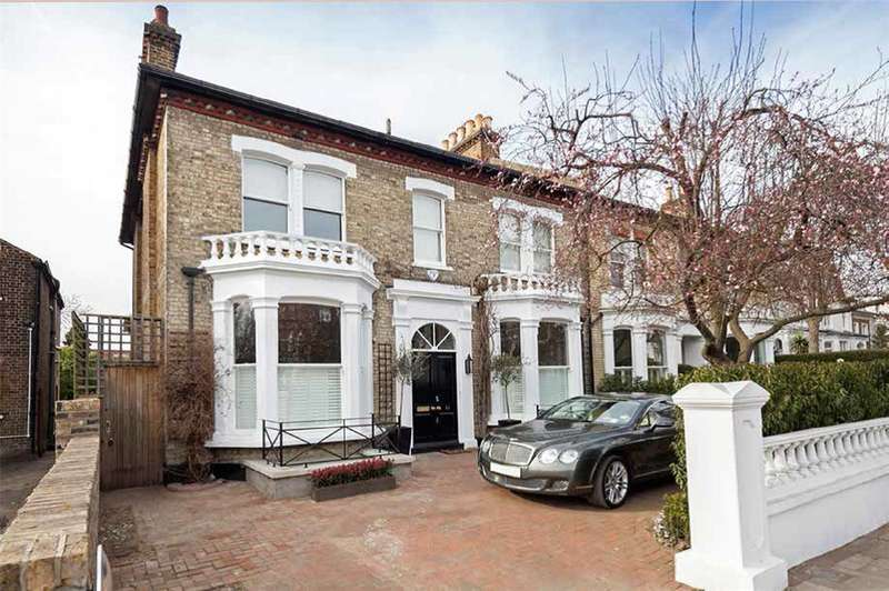 6 Bedrooms Semi Detached House for sale in Castelnau, Barnes, London, SW13